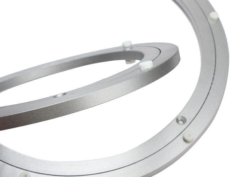 300mm 12 Standard Aluminum Lazy Susan Turntable