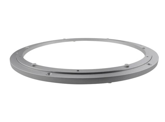 offset style aluminum lazy susan bearings