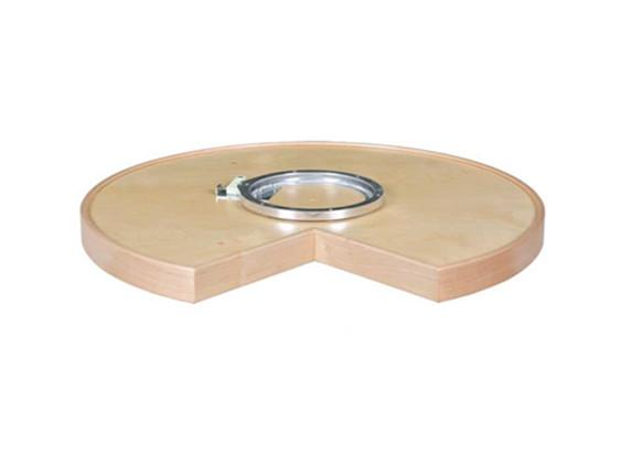 swivel bearing for corner cabinet