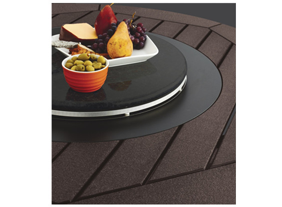 fire table lazy susan