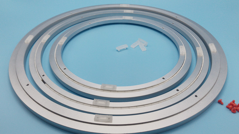 szsmarter new silent aluminum bearing with excellent non-slip rubber pads